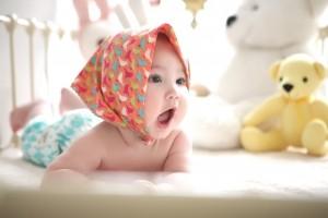 Vugge til baby