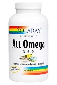 Omega 3 fiskeolie